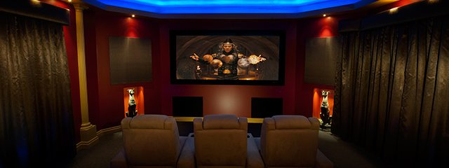 Get the most out of your media room with Timms Curtain House
