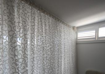 Readymade sheer curtains