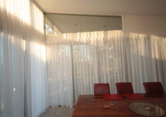 high drop curtains