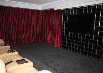 curtains for media room