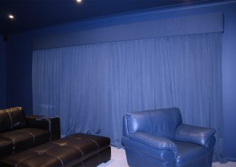 media room curtains