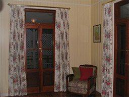 curtains on poles