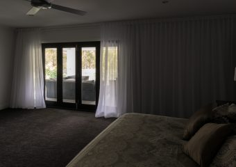 pleated sheer for wide window