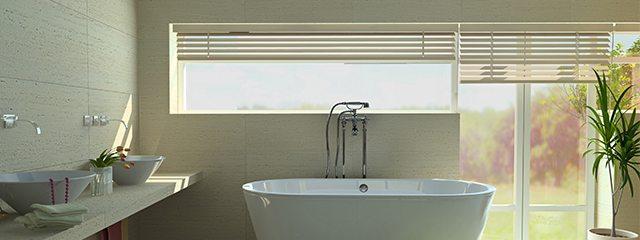 Best window coverings for bathrooms